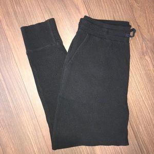 Black OAK+FORT Sweatpants